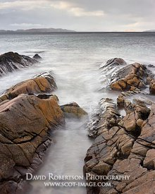 Image - Rocks and incoming tide at Mellon Udrigle beach, Gruinard Bay, Wester Ross, Highland, Scotland