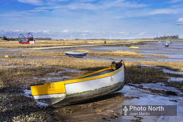 SUNDERLAND POINT 29A - Boats on the mudflats
