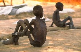 THE FAMINE IN SOUTH SUDAN