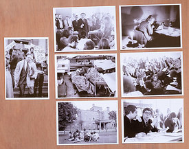 Set_7_postcards_of_sit-in_at_GSA