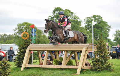 Emily Parker and TREEFERS - Equitrek Bramham International Horse Trials 2012