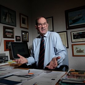 26.10.11.Dr Peter Hughes, CEO.Scottish Engineering, 105 West George Street, Glasgow..Pictured in his office..SINGLE USE ONLY....