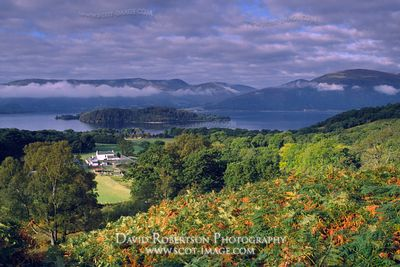 Image - Loch Lomond from above Cashel
