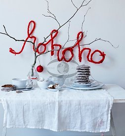 DIY Xmas Red and white by Hoernisch