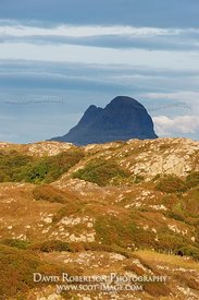 Image - An Inselberg, Suilven, Assynt, Sutherland