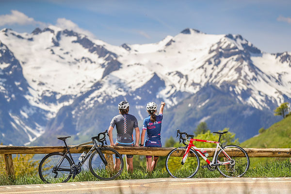 shooting velo route Alpe d'Huez