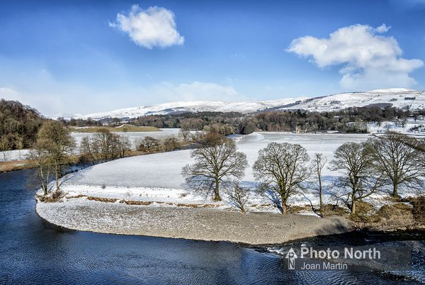 KIRKBY LONSDALE 09C - A wintery Ruskin's View
