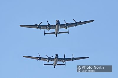 MORECAMBE 82A - Vintage  by the Sea; Lancaster Bombers
