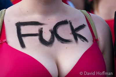 Slutwalk London September 22, 2012.
