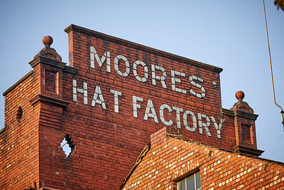 Denton, former Moores Hat Factory