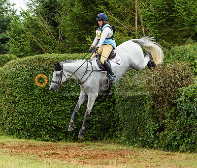 Kitty King and CRISTAL FONTAINE - Aston Le Walls Horse Trials 2019.