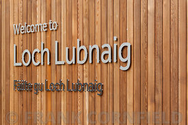 CALlANDER, SCOTLAND AUGUST 24, 2014: Sihnage at the Loch Lomond and Trossachs National Park site at Loch Lubnaig near Calland...