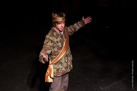 #72284,  Dress Rehearsal for Shakespeare's, 'Macbeth', Rose Bruford College, Sidcup, Kent.