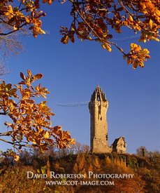 Image - Wallace Monument, Stirling, Scotland, Autumn