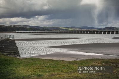 ARNSIDE 03B - The Kent Viaduct and Arnside Pier