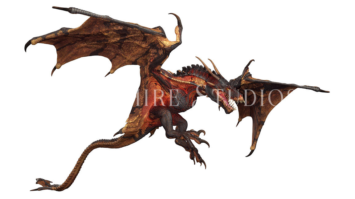 Flying Wyvern Fantasy Dragon
