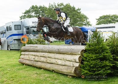 Sam Griffiths and PAULANK KINGS RIVER - Upton House Horse Trials 2019.