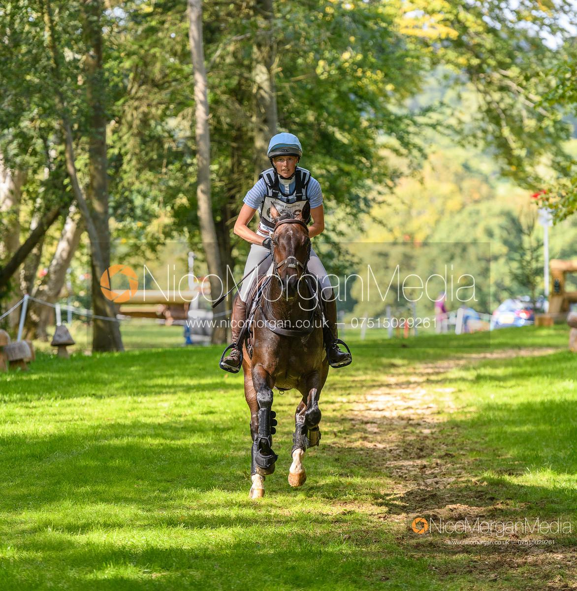 Emily Young-Jamieson and THE EMPRESS - Cornbury House Horse Trials 2020