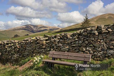 SEDBERGH 65A - Seat on Howgill Lane