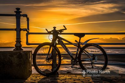 MORECAMBE 21B - Cycle on the Stone Jetty