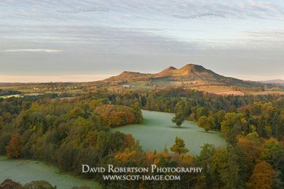 Image - Eildon Hills from Scott's View, Scottish Borders