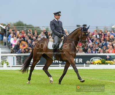 Johan Lundin and MIND ME - Dressage - Land Rover Burghley Horse Trials 2019