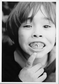 POSTCARD  #72804  Summerhill, missing tooth.  Postcard, high quality printing on FSC certified 330gsm board.  Each 105x147mm ...