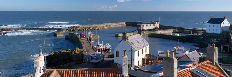 Image - St Abbs harbour, Scottish Borders, Scotland