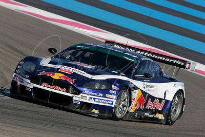Karl Wendlinger (AT) et Philipp Peter (AT), Aston Martin DBR9. Race Alliance Motorsport. Action.