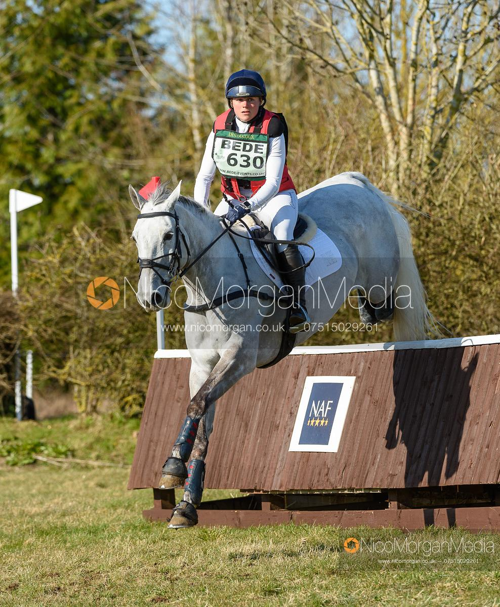 Sophie Brown and SARCHIE. Oasby (1) Horse Trials 2020