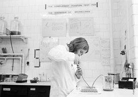 #124451,  Scientist (civil servant) at the Central Veterinary Laboratory, 1973.