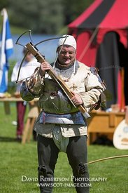 Image - Archer at a historical re-enactment of a jousting tournament