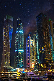 Dubai, middle east,images,photos,moon,skyline