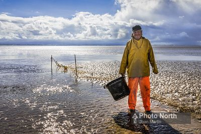 FLOOKBURGH 52C - Gill-net fishing, Morecambe Bay