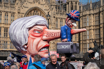 Brexit: demonstrators, 1st April, 2019