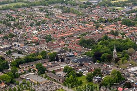 Wolvega - Luchtfoto Stichting Comperio
