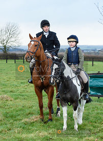 At the meet. The Quorn Hunt at Barrowcliffe 6/12