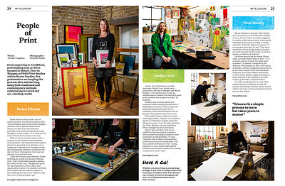 Portraits of Margate Artists Helen Pitman, Jordan Gray & Nick Morley