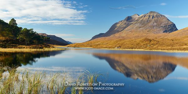 Image - Liathach and Loch Clair, Glen Torridon, Wester Ross, Highland, Scotland
