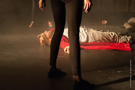 #72188,  Dress Rehearsal for Shakespeare's, 'Macbeth', Rose Bruford College, Sidcup, Kent.