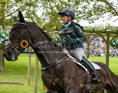 Eliza Stoddart and PRIORSPARK OPPOSITION FREE - Cross Country - Land Rover Burghley Horse Trials 2019