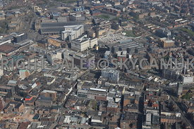 Liverpool area surrounding Liverpool Central Station and Copperas Hill developments
