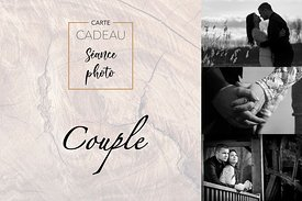 "Carte cadeau - séance photo ""Couple"""