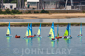 Dinghy Sailing at Calshot.