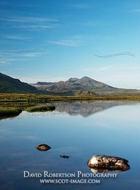 Image - Foinaven reflected in a small lochan, Sutherland