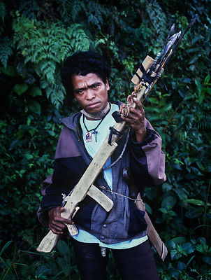 Independence supporter, East Timor, March 1999.
