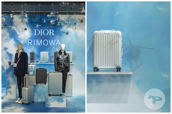 PHOTOS RETAIL : DIOR X RIMOWA LE BON MARCHE PARIS