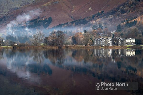 GRASMERE 03A - Winter reflections on Grasmere