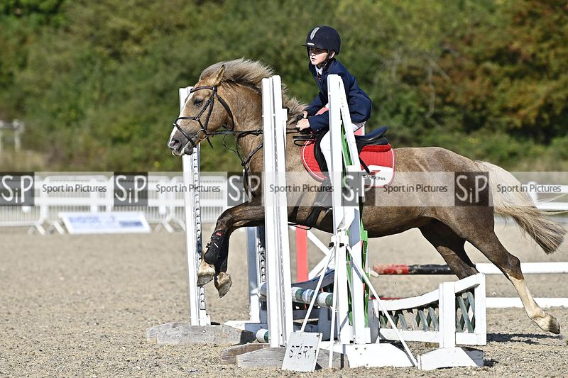 Stapleford Abbotts. United Kingdom. 13 September 2020. Unaffiliated show jumping. MANDATORY Credit Garry Bowden/Sport in Pict...