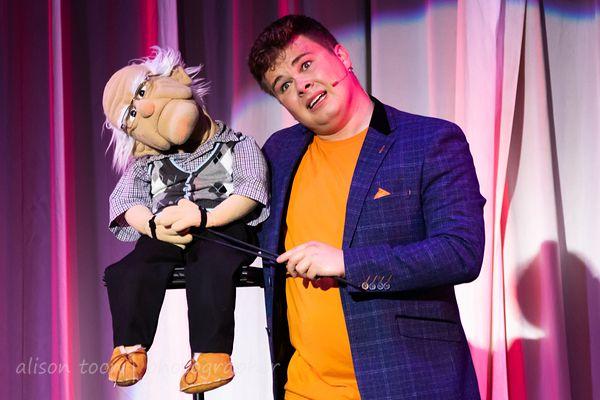 Max Fulham, ventriloquist, Cromer Pier Show